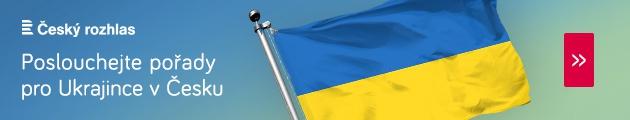 Poslouchejte pořady pro Ukrajince vČesku